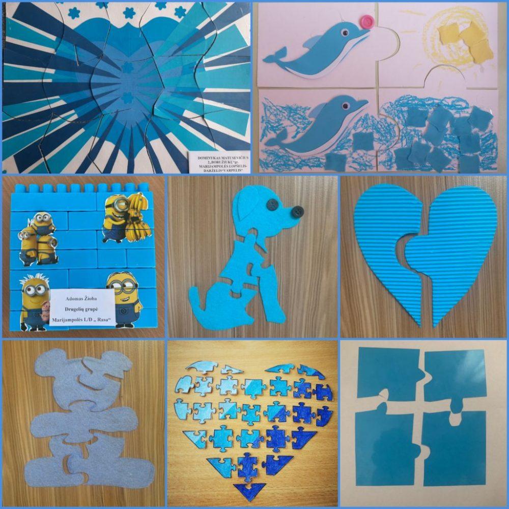 Balandžio 2-oji – Pasaulinė autizmo supratimo diena